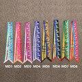 Твилли 2016 Мода Высокого Качества Печати Верховая Шелковый Шарф Маленький Лента Женщины повязка Мешок Ручки оптом