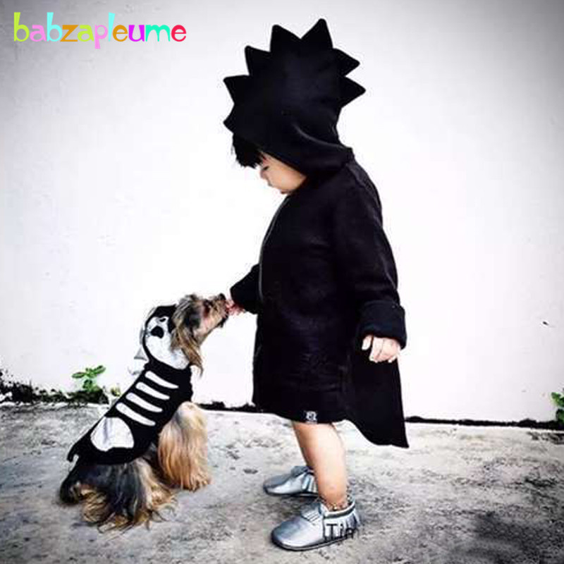 babzapleume 3 24Months spring autumn newborn baby boys girls jacket for kids coats cartoon cute hooded