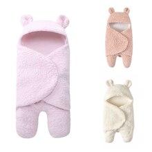 Спальный мешок для новорожденных мальчиков и девочек в европейском и американском стиле, имитация кашемира