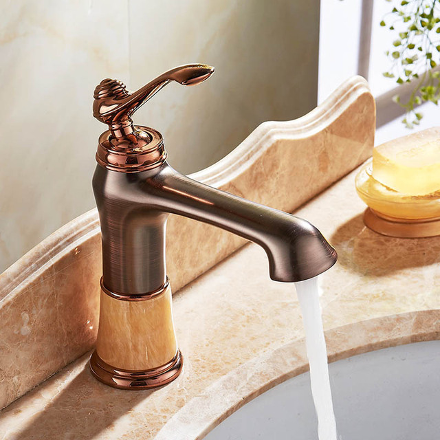 Free Shipping Luxury Brass Bathroom Cabinet Faucet Sink Basin Mixer ...