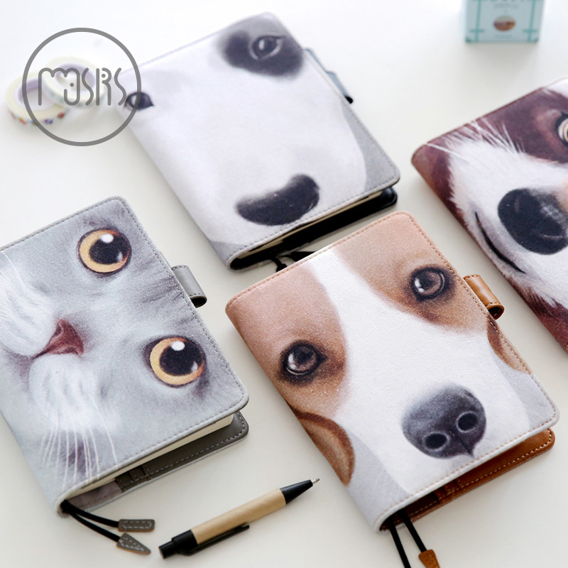 купить Monthly Weekly Day Planner A6 80 sheets Spiral notebook paper Cute Diary Multi-functional hand book Office school supplies New по цене 2790.71 рублей