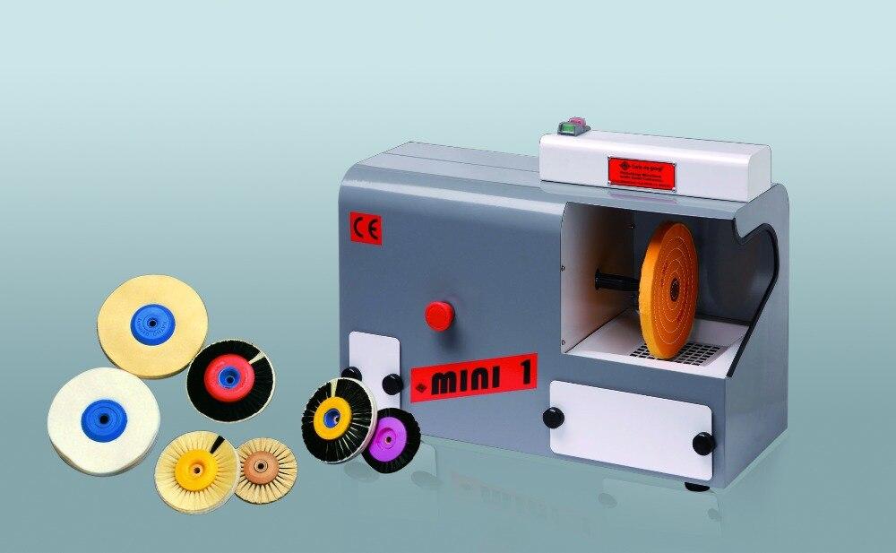 Machine à polir orfèvre ghtool avec dépoussiéreur, polisseuse à tête unique, outils et équipement de fabrication de bijoux vente en gros et au détail