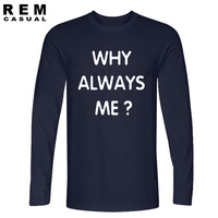 Manchester City S Mario Balotelli Why Always Me T Shirt Men Long Sleeve Cotton Soft Tee