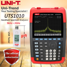 UNI-T UTS1010 Handheld Spectrum Analyzer with a frequency range of 9kHz to 2GHz