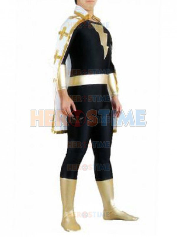 Marvel Family Black Adam Superhero Costume Halloween Cosplay Suit Adult The Most Classic Marvel Family Adam Costume