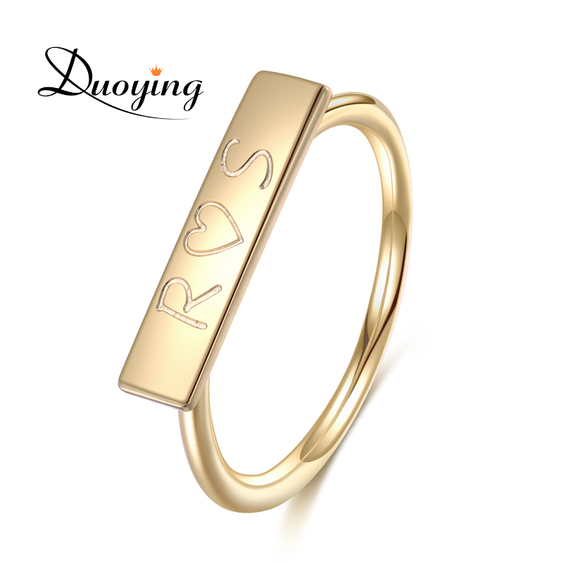 Aliexpress.com : Buy DUOYING Custom Ring for Etsy Promise