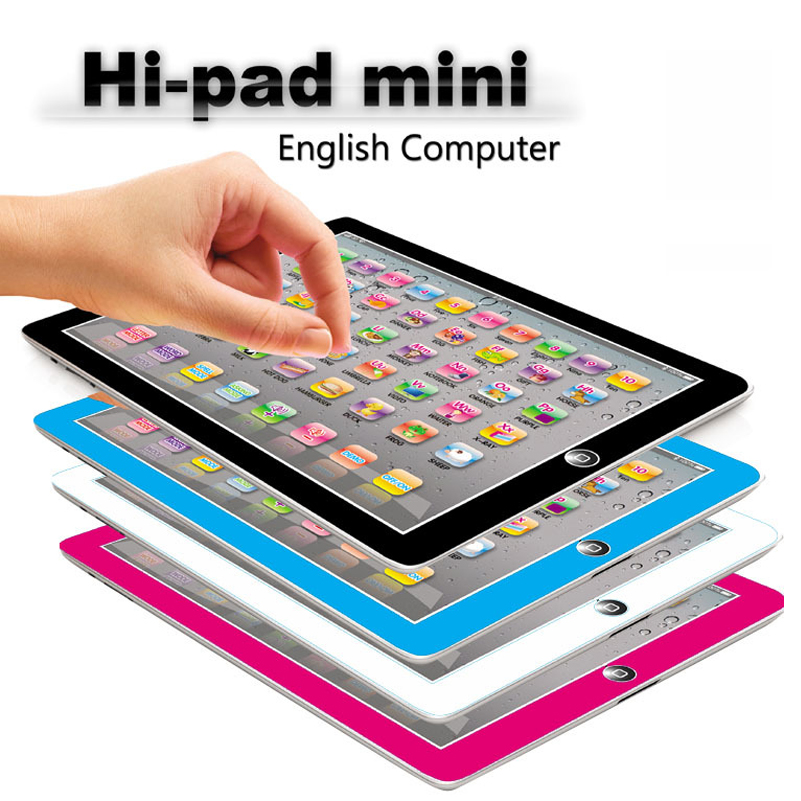 Tablet Toys Children Pad English Learning Machine Kids Laptop Learning Education Toy For Baby Birthday Gift