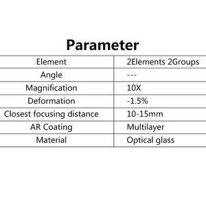 Image 5 - Ulanzi OP 6 obiektyw makro do kieszeni DJI Osmo, profesjonalna konstrukcja magnetyczna HD obiektyw Osmo akcesoria kieszonkowe