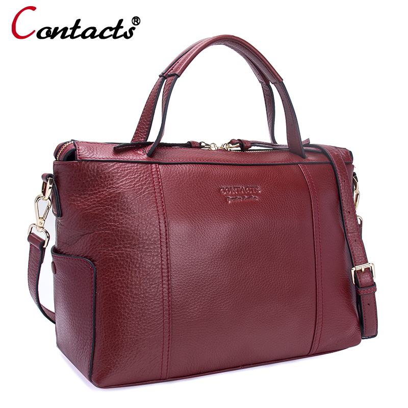 Contact's Luxury Handbags Women Bags Designer Women Leather Handbags Genuine Leather Messenger Crossbody Bags For Women Tote Bag arnagar genuine leather luxury women messenger bags new designer handbags high quality lady tote bag crossbody bag for women page 1