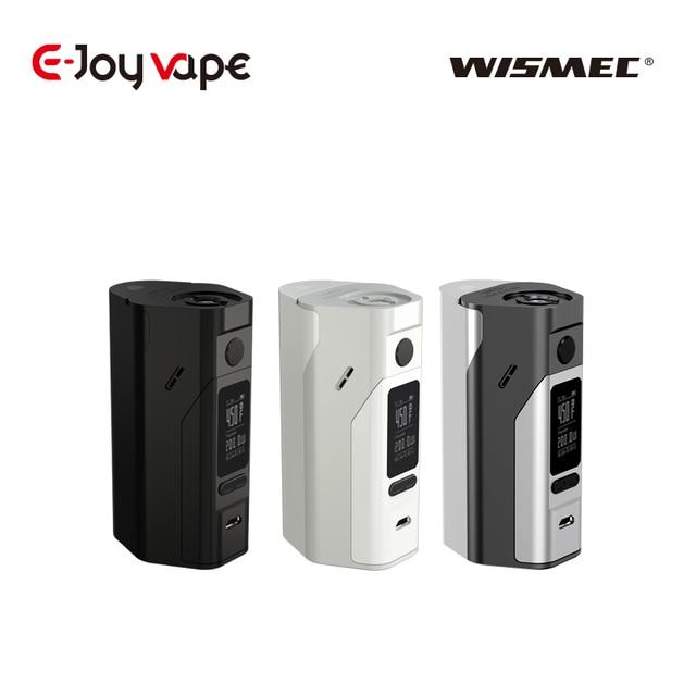 Оригинальный wismec reuleaux RX2/3 150/200 Вт RX 2/3 TC mod 18650 ячеек 510 Нитки и RX 200 S электронных сигарет VAPE