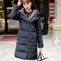 Hooded Knit Cap White Duck Down Coat Plus Size Slim Women Down Jacket With Knitted Hat Fashion New Oversized Parkas Winter