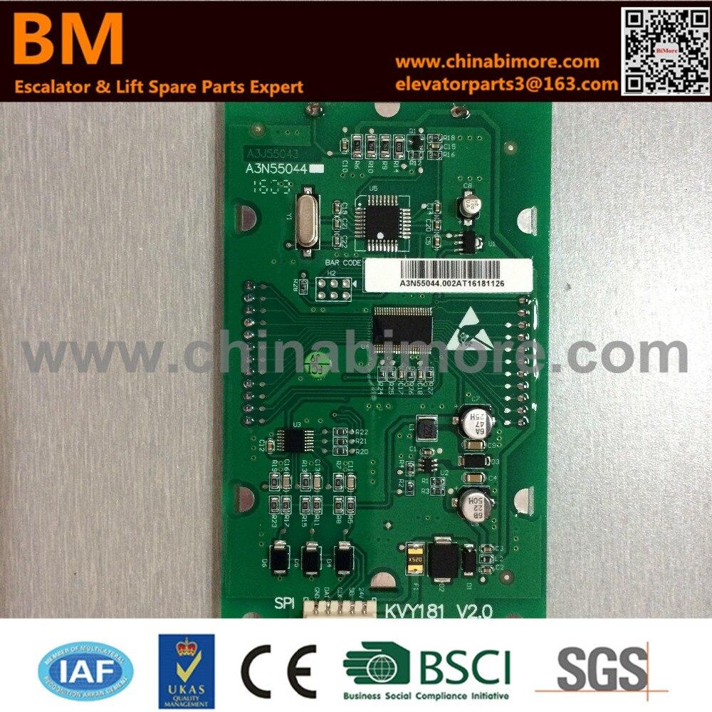 Kone A3N55044 A3J55043 Elevator Indicator Display Board kone drive v3f16l inner board km964619g01