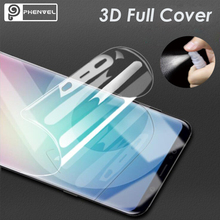 Phenvel 3D screen protector for samsung galaxy s9 plus full cover silicone hydrogel film gel protective