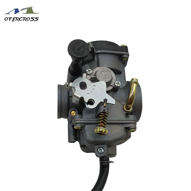 Size 30mm Motorcycle Carburator JIANSHE LONCIN BASHAN ATV250 JS250 ATV250 Qingqi QM250GY GXT250 Manual Choke VersionSize 30mm Motorcycle Carburator JIANSHE LONCIN BASHAN ATV250 JS250 ATV250 Qingqi QM250GY GXT250 Manual Choke Version