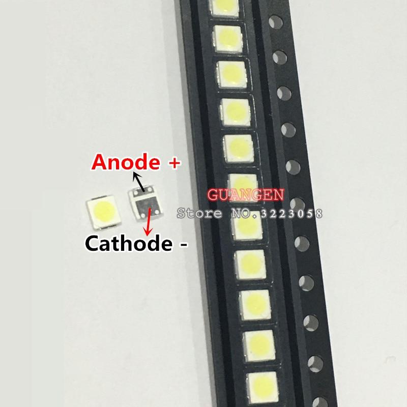 100PCSLOT Lextar LED Backlight High Power LED 1.8W 3030 6V Cool white 150-187LM PT30W45 V1 TV Application 3030 smd led diode