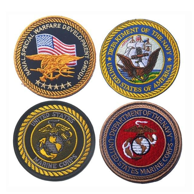 embroidered usmc badge us marine corps patch emblem badge military
