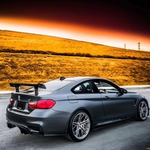 Car Styling GTS Carbon Fiber Modified Rear Spoiler Tail Wing For BMW 1M M3 E82 E87 E90 E92 E93 F30 F10 Revozport Style недорого