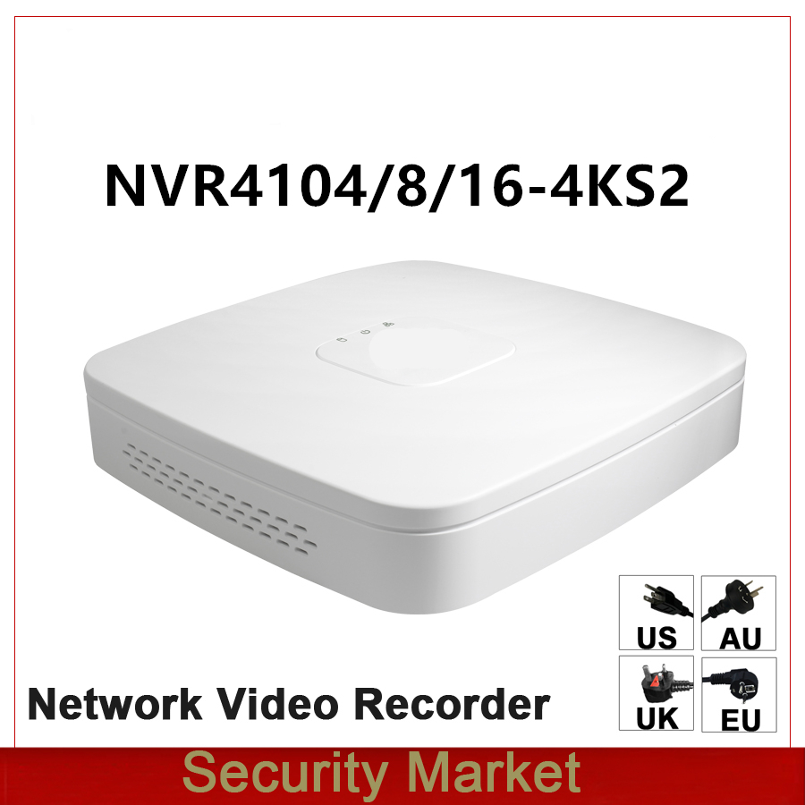 Original dahua English version NVR4104 4KS2 NVR4108 4KS2 NVR4116 4KS2 4 8 16 CH Smart 1U