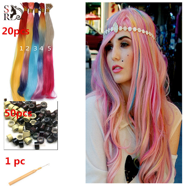 Aliexpress.com : Buy 14pcs/lot Ombre I Tip Hair Extension With ...