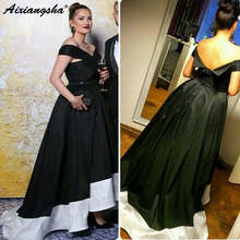 afa30ee5fe Buy black white evening gown and get free shipping on AliExpress.com