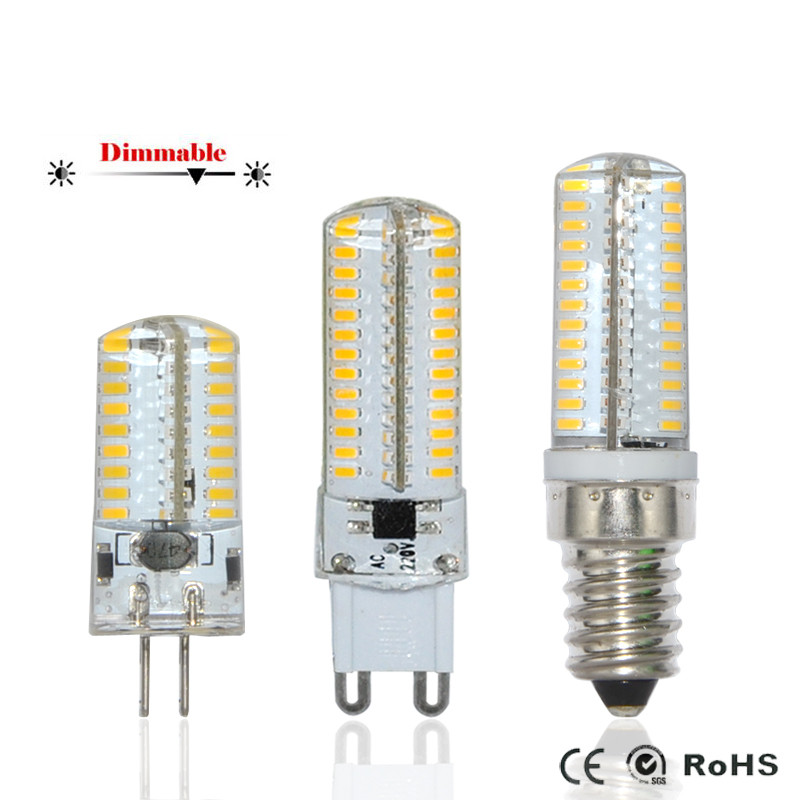 e14 g9 g4 smd3014 3w 4w 5w 6w 7w 8w 9w led corn bulb lamp dc12v ac220v dimmable silicone lampada. Black Bedroom Furniture Sets. Home Design Ideas