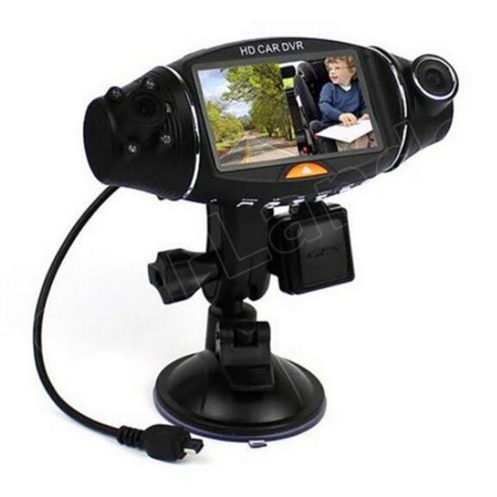 best price 1920x1080 2 7 inch Video font b Car b font Camera Dual Lens Recorder