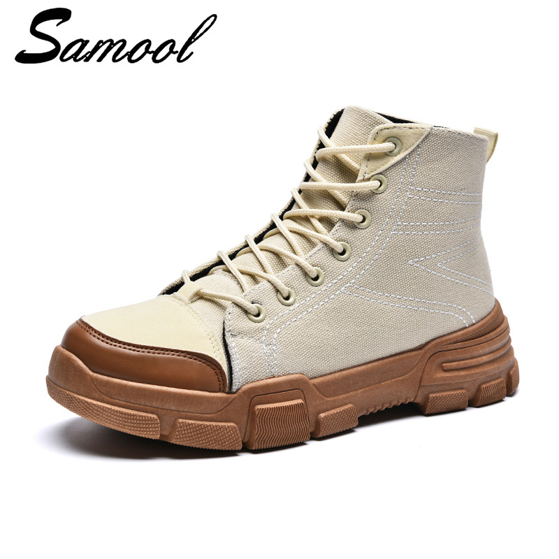 Men Casual Shoes Breathable High-top Lace-up Canvas Shoes Espadrilles Fashion White Men Shoes Flat Shoe Chaussurs Footwear ky3 e lov women casual walking shoes graffiti aries horoscope canvas shoe low top flat oxford shoes for couples lovers