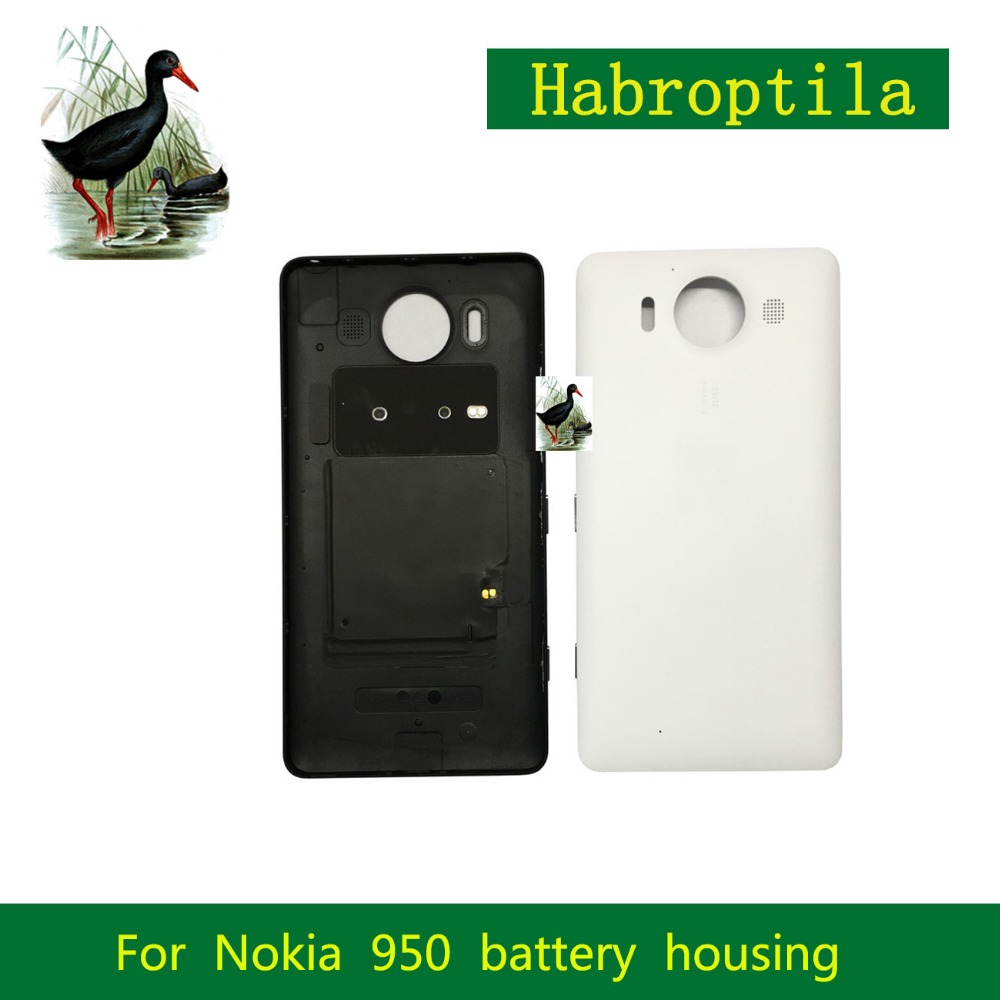 10 шт./лот для Nokia <font><b>Lumia</b></font> <font><b>950</b></font> N950 крышка Корпус Батарея крышка отсека задняя крышка корпуса задняя крышка Корпус Замена