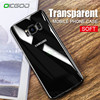 OICGOO Luxury Soft Case For Samsung Galaxy S8 S8 Plus S7 edge Silicone Transparent Cases For Samsung A5 A7 A3 2016 2017 TPU Slim