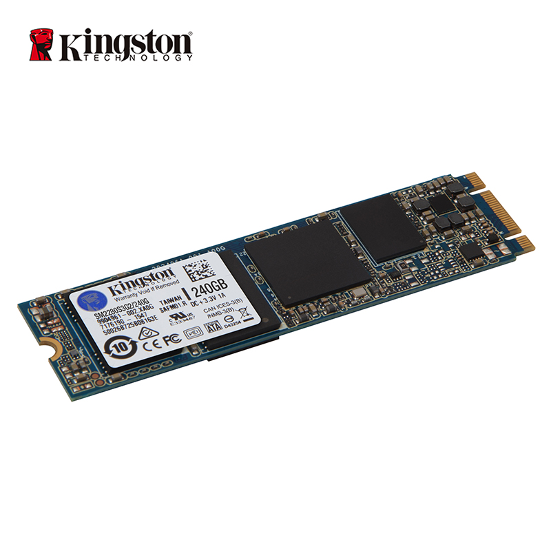 KINGSTON SSD SSDNow M.2 SATA G2 Lecteur 120 gb 240 gb Espace-économie caseless conception adapte ultra-thincomputing applications