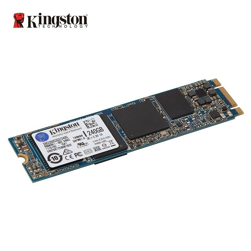Disque SSD SSDNow M.2 SATA G2 KINGSTON 120 go 240 go design sans boîtier peu encombrant pour les applications de calcul ultra-mince