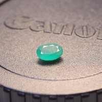 4mm * 6mm natürliche ICH grade smaragd lose edelstein 0.4ct echt Sambia smaragd edelstein für schmuck DIY