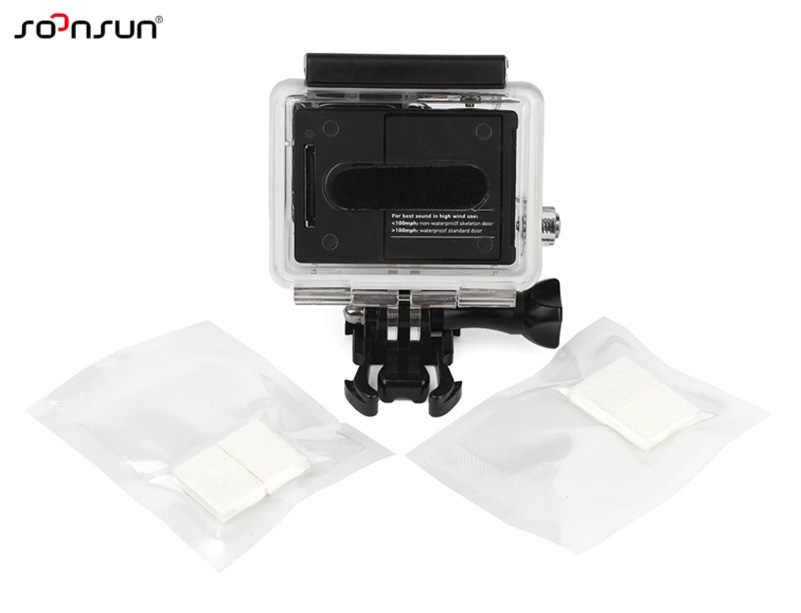 SOONSUN 12 шт модельные садовые светильники проставки для сушки для экшн-камеры GoPro Hero 7 6 5 4 3 Yi для DJI Osmo экшн Водонепроницаемый чехол Аксессуары