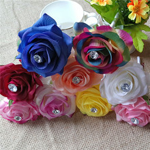 Handmade Colorful Real Touch Artificial Rose