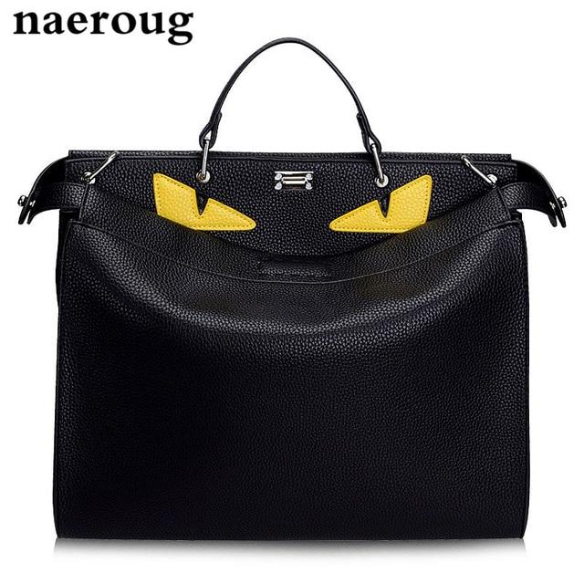 5e94609c28c8 New Luxury Handbags Women Bags Designer Large Monster Bags Brand Men Women  Genuine Leather Totes Famous