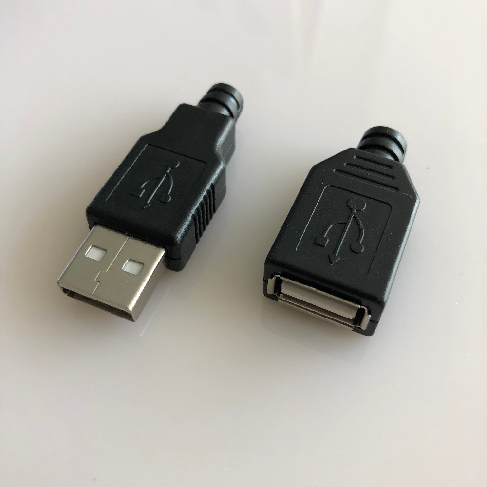 10PCS/LOT YT2151B USB 2.0 Male/Female connector plug welding Data OTG line connector DIY accessories Sell at a loss все цены