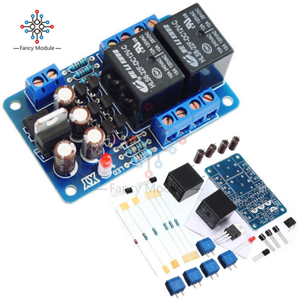 Online Shop Speaker Protection Board Component Audio Amplifier Diy Tda7560 Car Circuit Wiring Diagram Must Know Boot Delay Dc Protect Kit For Stereo Double Channel Aliexpress Mobile