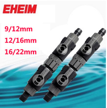 EHEIM DOUBLE TAP with quick COUPLING AQUARIUM FILTER release coupling Llave doble 9/12mm(S) 12/16mm(M) 16/22mm(L)