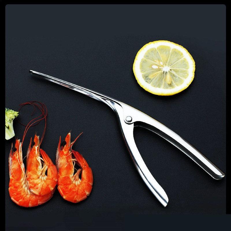 Stainless Steel Shrimp Peeler