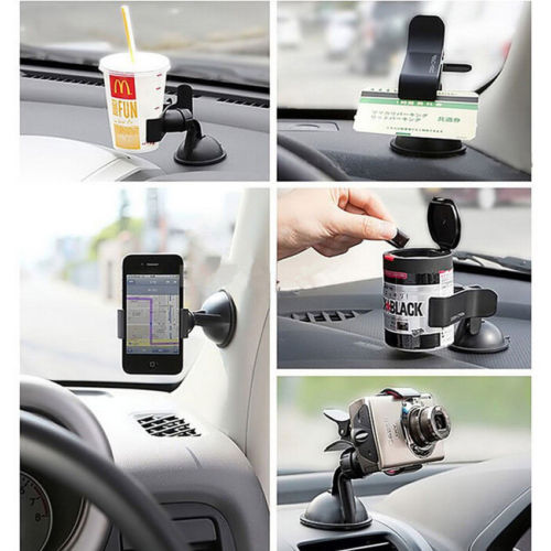 2019 Hot Selling 360 Degree Rotating Car Windshield Holder Mount Stand For Tablet Pc Mobile Cell Phone Gps High Quality