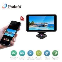Podofo Car DVR HD 1080P 360 Degrees Panoramic Dash Camera Video Recorder 720 degree VR camera WIFI self shot recording camera