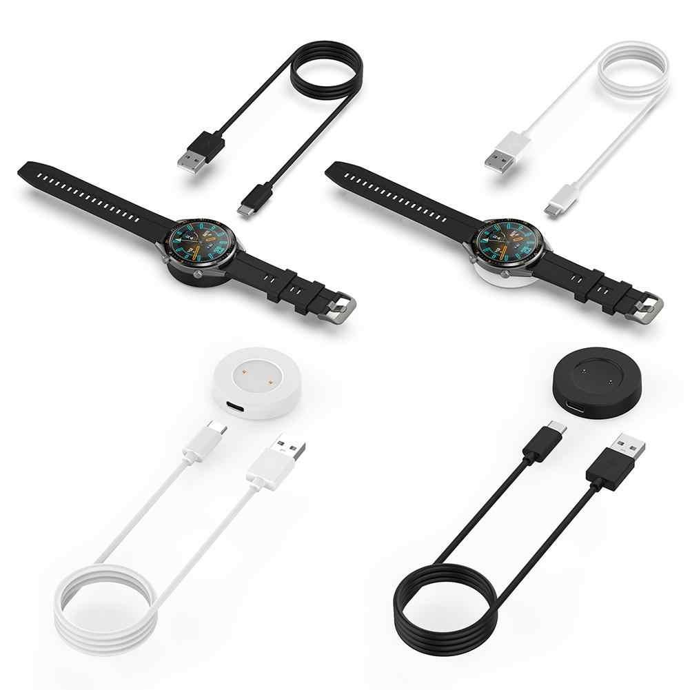 טעינת Dock Cradle מגנטי קבוע מטען כוח אספקת 1m כבל USB נייד עבור Huawei GT כבוד קסם חכם שעון