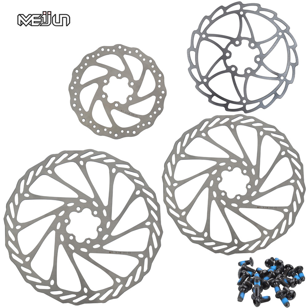 Meijun 1pcs Stainless Steel G3 Mtb Disc Brake Rotor 140mm 160mm 160 Mm Avid G3cs 180mm 203mm Mountain Bike Cycling 6 Holes With Screws In Bicycle From Sports