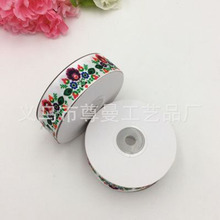 Ribbon 2.5cm Wide DIY Decorative Materials Digital Printing Thermal Transfer Sublimation Thread With Small Flower Series