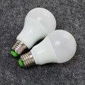Светодиодные лампы для домашнего использования e27 база реальная власть 220 В A60 12 Вт 15 Вт smart led чипы 5730smd свет motion датчик крышки рождество