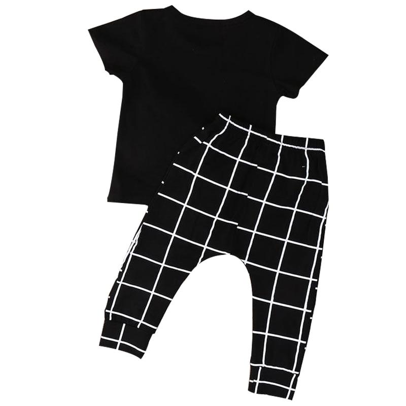 KEOL Best Sale 2pcs Newborn Infant Baby Boy Girl Clothes T-shirt Tops+Long Pants Outfits Sets, 70(Advice 0-6 Months)