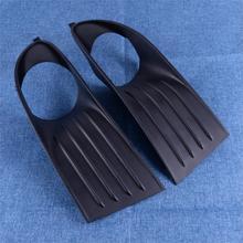 Beler 5178285 5178284 2 pçs left & right amortecedor dianteiro luz de nevoeiro grille capa guarnição apto para dodge journey 2009 2010 2011 2012 2013