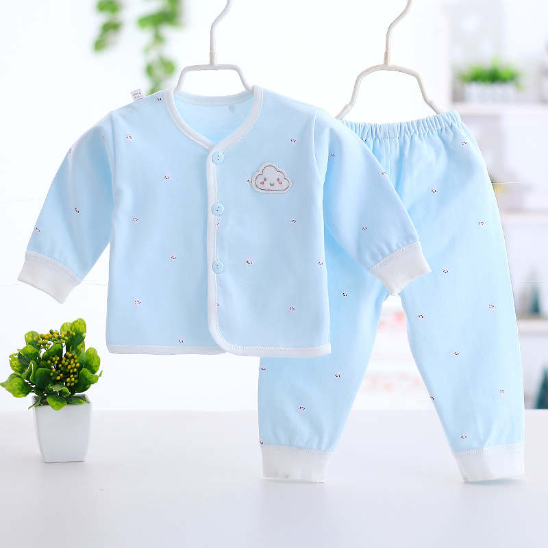 0 6 Month Baby Clothing 100 Cotton 5 Colors Baby Boy Clothes