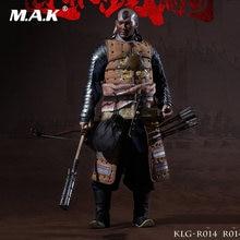 Collection ensemble complet KLG-R014 1/6th Ming dynastie Liaodong Mongol Cavalier Mongol soldats figurine modèle pour les Fans cadeau de vacances