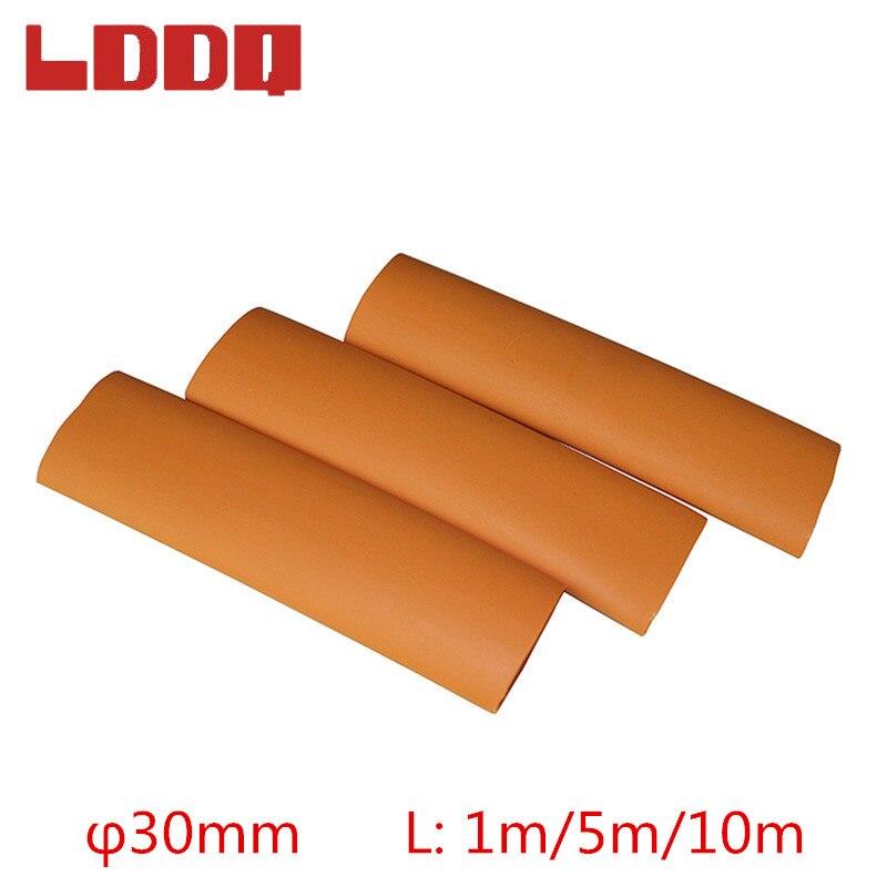LDDQ 30mm Orange Heat Shrink Tubing 3:1 with Glue Adhesive Waterproof 1m/5m/10m Wire Wrap Tube for Automotive Wire HarnessLDDQ 30mm Orange Heat Shrink Tubing 3:1 with Glue Adhesive Waterproof 1m/5m/10m Wire Wrap Tube for Automotive Wire Harness